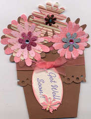 Flower pot card #2
