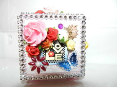 decorative box 2,5 X 2,5 in