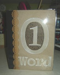 One word journal