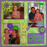 Tinkerbell Birthday Page 1