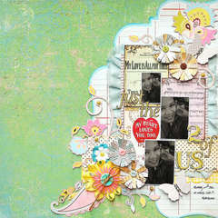 Just the 2 of Us:  **Scrap That! August Kit**