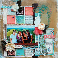 GAL PALS: **SCRAP THAT! APRIL KIT**