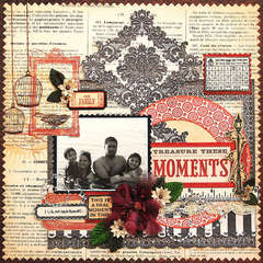Treasure these Moments:  **Scrap That! January Kit**