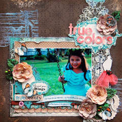 TRUE COLORS: **SCRAP THAT! APRIL KIT**