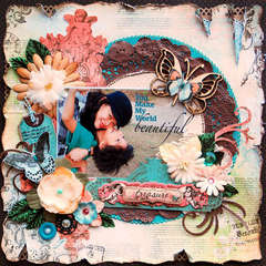 YOU MAKE MY WORLD BEAUTIFUL: **SCRAP THAT! APRIL KIT**