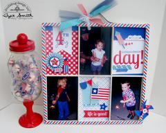 Doodlebug Designs Star's and Stripes Photo Tray