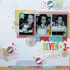 Seven x 3 *New Pebbles*