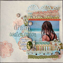 Dream in Watercolor *Webster's Pages*