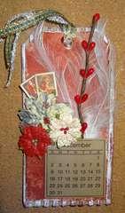 2012 Tag Calendar - December (Swirlydoos December Kit