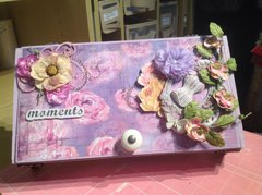 Altered Cigar Box - Prima October Special Delivery Kit