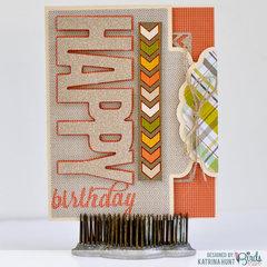 Happy Birthday-3 Birds Design