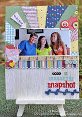 Just a Captured Snapshot-Nikki Sivils, Scrapbooker