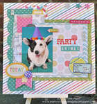 Party Animal-Gossamer Blue Sept. Kit