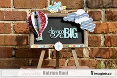 Dream Big Teacher Gift-Imaginisce