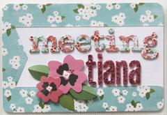 Project Life Disney Album - Meeting Tiana