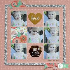 Love & Be Kind *Pebbles*