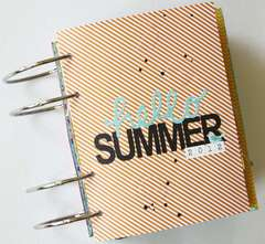 Hello Summer 2012 Mini Album *Pebbles*