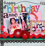 Happy 9th Birthday Anne