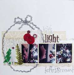 Love is the Light of {Christmas}
