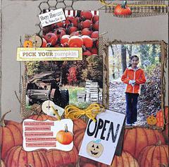 Pick Your Pumpkin