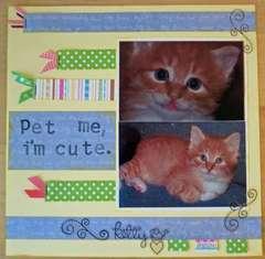 Pet me, I'm cute.