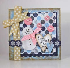 *Bo Bunny* Midnight Frost Card Kit