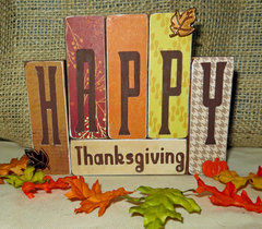 Front side - Happy Thanksgiving - Quick Quotes