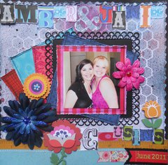 Amber & Janie ~ BOAF June Kit Reveal