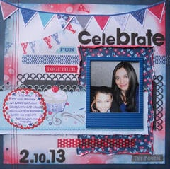 Celebrate~BOAF March Kit