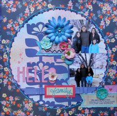 Hello Family ~ BOAF June Kit Reveal