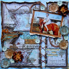 Home on the range ~ Red Rubber Designs DT