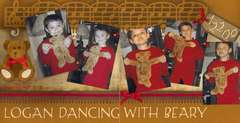 Logan dancing with Beary