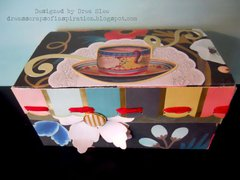 Altered Tea Box ~ FotoBella DT