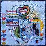 My love bug ~ BOAF August Kit