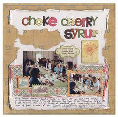 Choke Cherry Syrup