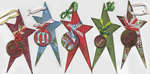 Collection of Personalized Star Ornament Tags