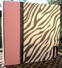 Altered Zebra Binder