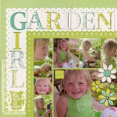 Garden Girl (better Pic)