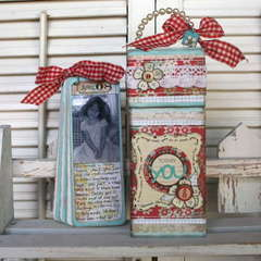 ~You~  Shabby Chic Pink Paislee Journaling Box