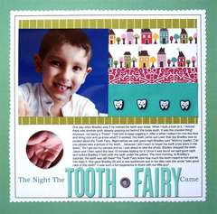 The night the Tooth Fairy came