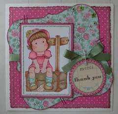 Magnolia - Thank You Card