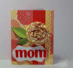 Mother's Day Card with handmade flower