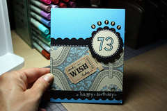 Happy 73 - Card for Dad