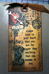 Father's Day Tag ala Tim Holtz