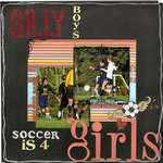 Silly boys, Soccer is for girls