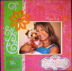 Mocha Heart Mom