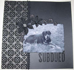 Subdued
