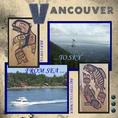 Vancouver. From Sea to Sky
