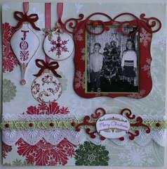 Crafty Secrets Christmas Layout