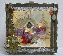 Shadow box - lights on ***Swirlydoos Kit Club***